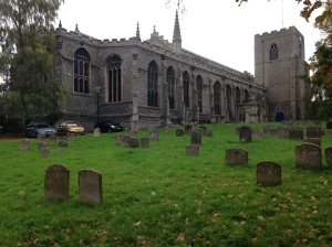 St Mary's from the Great Churhyard